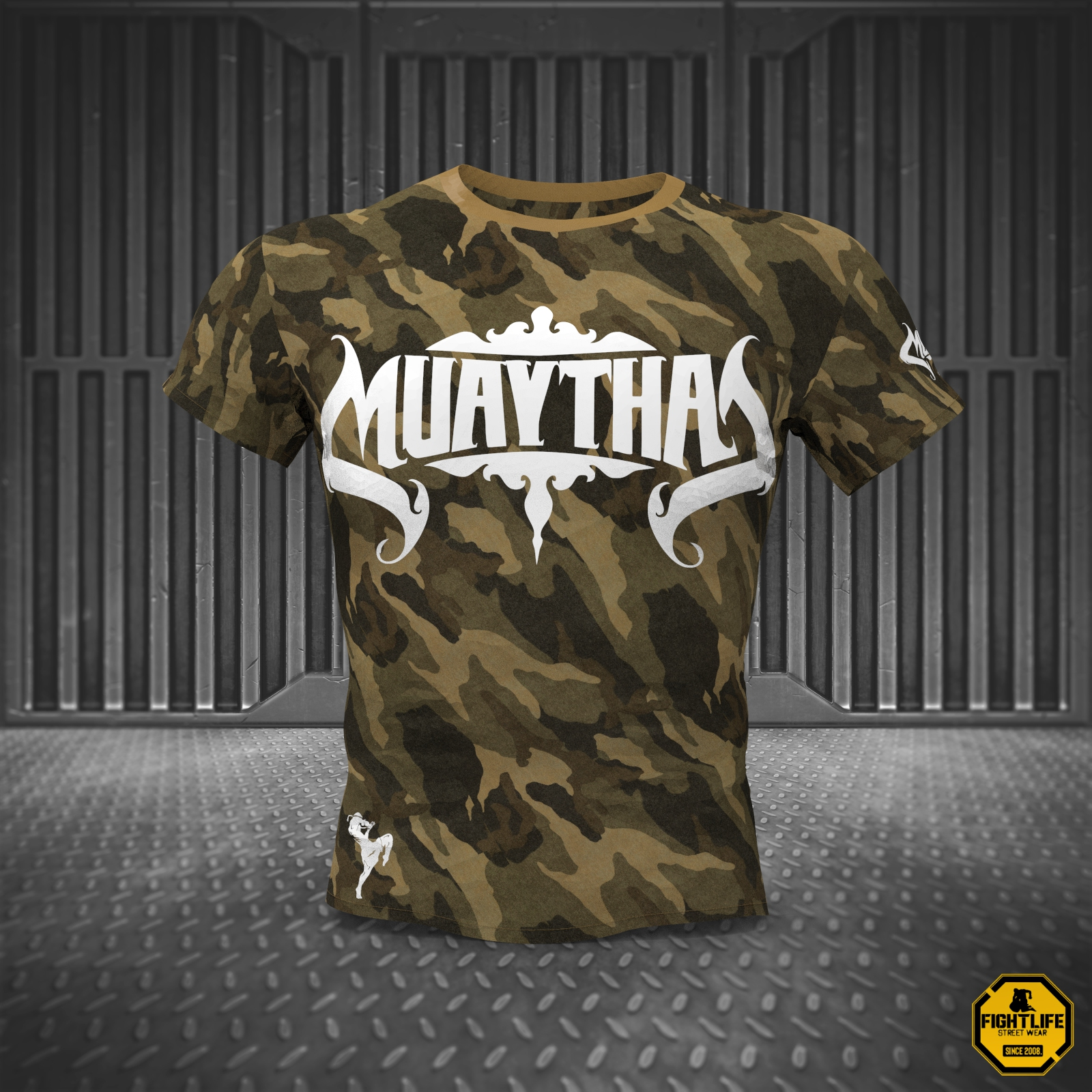 Muay Thai [Team Elite] Camo póló